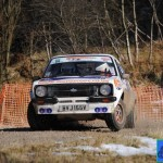 1st Overall Class D3- Ian Hildreth &  Stephen Stead-Ford Escort Mk2