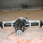 New built Group 4 Fully Floating Atlas Axle