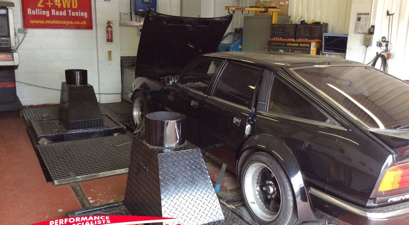 Rover v8 rolling road tuning