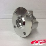 alloy front hub
