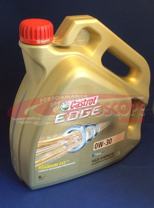 Motoscope Castrol Edge 0w 30 Engine Oil Motoscope
