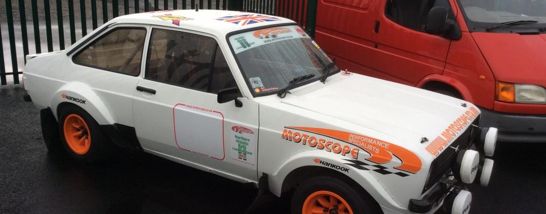 Motoscope Escort Mk2 Historic Rally Car - Motoscope