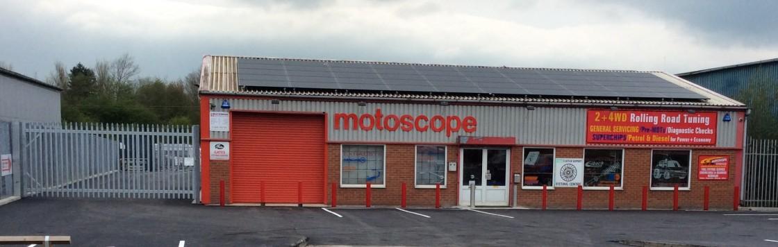 Motoscope front