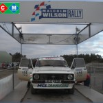 1st Overall Class D5-Marcus Noble & Helen Hall - Ford Escort Mk 2