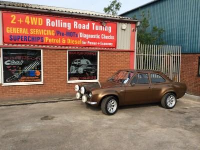 Mk1 Escort Rolling Road