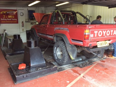 Toyota Hilux Rolling Road Tuning