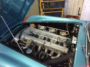 Volante engine bay