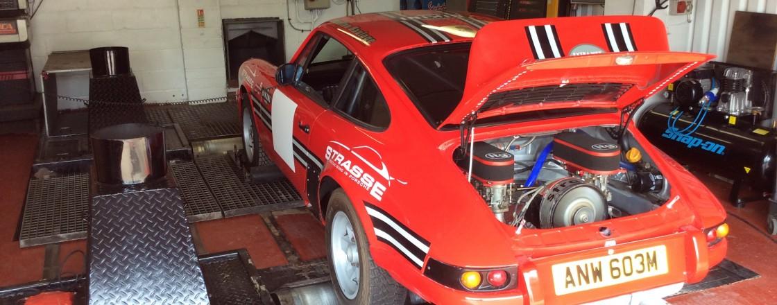 911 Rally car