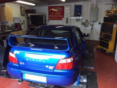 Subaru Power Run