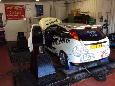 Focus Zetec Rally Car Mapping