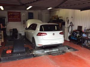 Golf Mk7 Power run