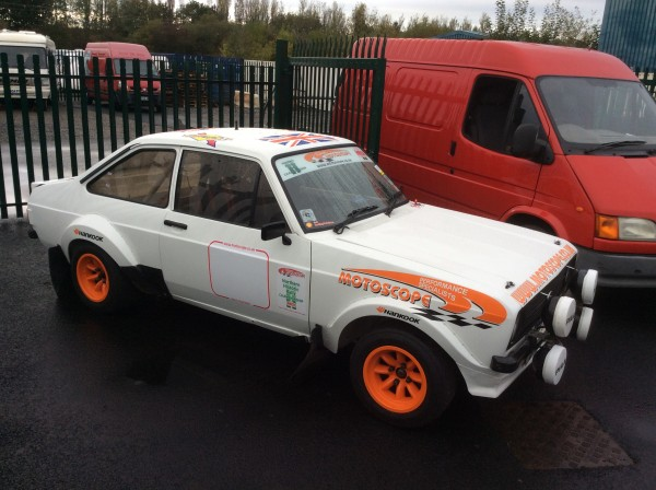 MK2 Escort Rally Car