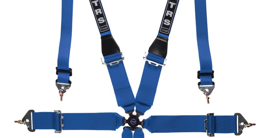 trs hans harness blue 6 point