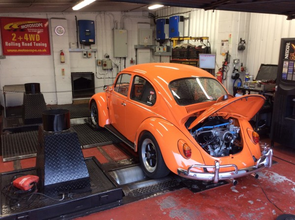 Air Cooled Beetle Rolling Road
